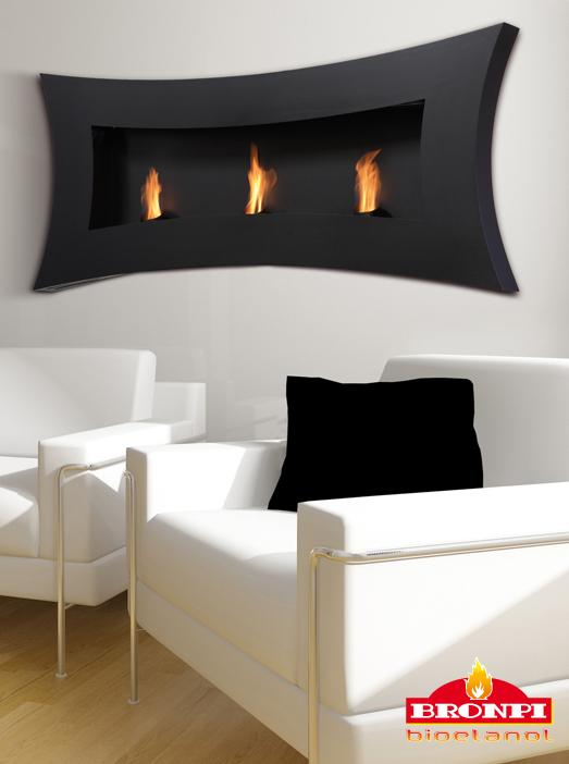 Decoración de interiores con chimeneas