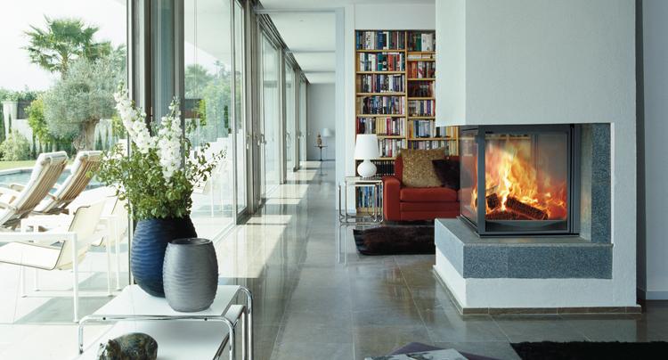 Chimenea con casete, mayor provecho térmico y ahorro energético