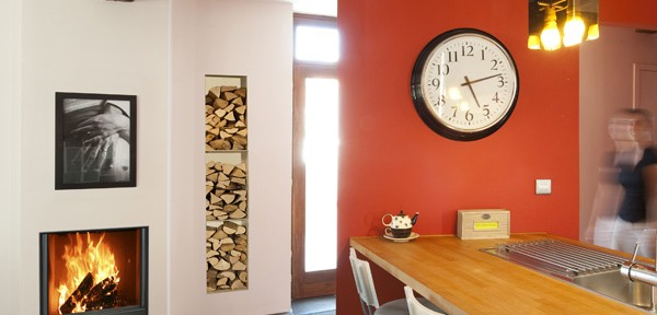 Ideas para decoración con chimenea, hogar o casete 2