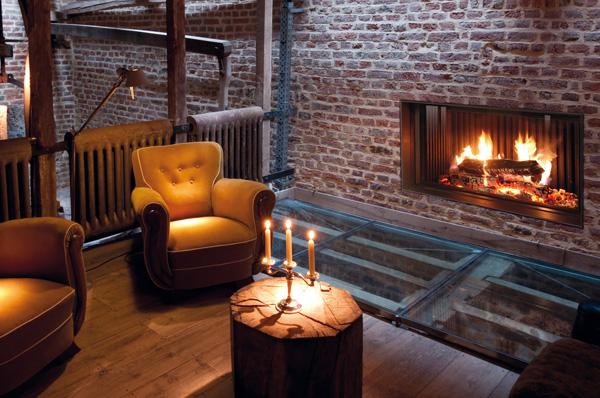 Hogar Bodart&Gonay Phenix 120 Green Skamolex para disfrutar de un buen fuego