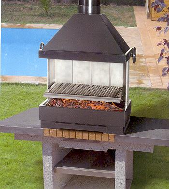 Barbacoa de carbón Ferlux Fiesta