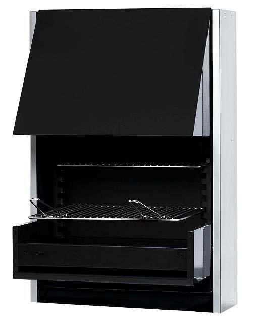 Elegir una barbacoa - modelo de Barbacoa Rocal Carbon Plek 66 Basic