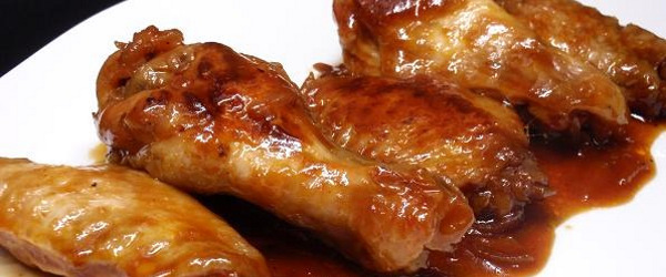 La salsa barbacoa - Alitas de pollo