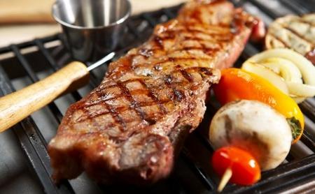 La salsa barbacoa - Carne a la parrilla