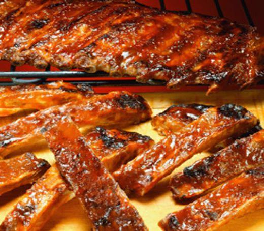 Secretos para cocinar carne de cerdo - Costillas a la parrilla
