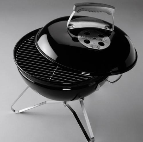 Preparada para entrar en acción Barbacoa Weber Carbon Smokey Joe Premium