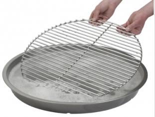 Agua con jabón para mantener limpia la barbacoa