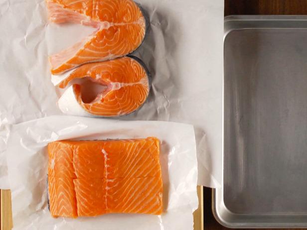 Salmón el lomos o en tranchas para asar - Cocinar salmón a la parrilla