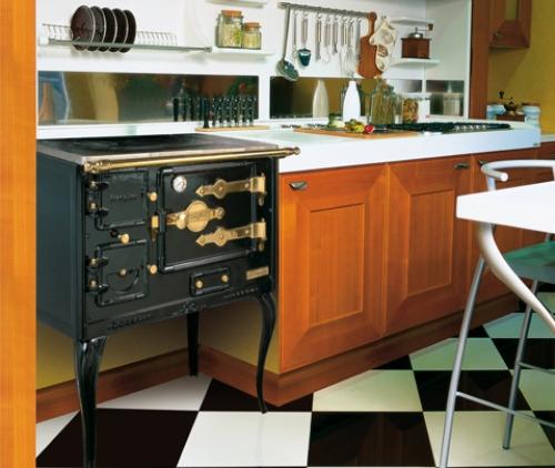 Cocina Hergom Tb instalada y lista para su uso en la cocina
