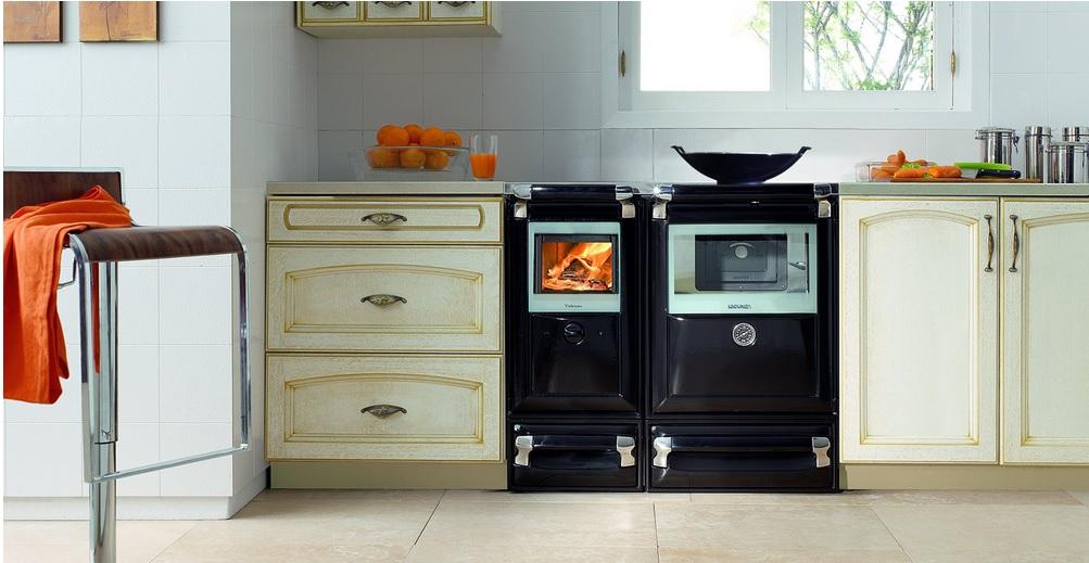 Cocina Lacunza Vulcano instalacion clasica