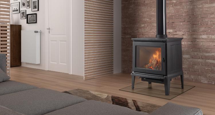 Estufa Hergom E30S como elemento de apoyo a la calefacción central