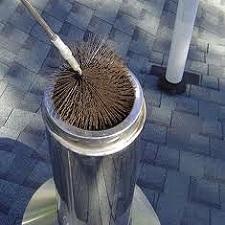 Uso de un cepillo de erizo - Deshollinar una necesidad
