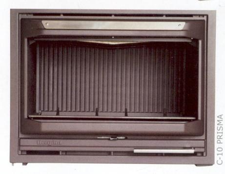 Casete Hergom C-10 - Vista del aparato sin instalar