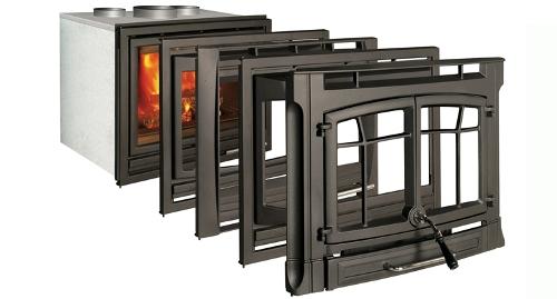 Casete Hergom C-10 - Posibilidades de acabado de las puertas