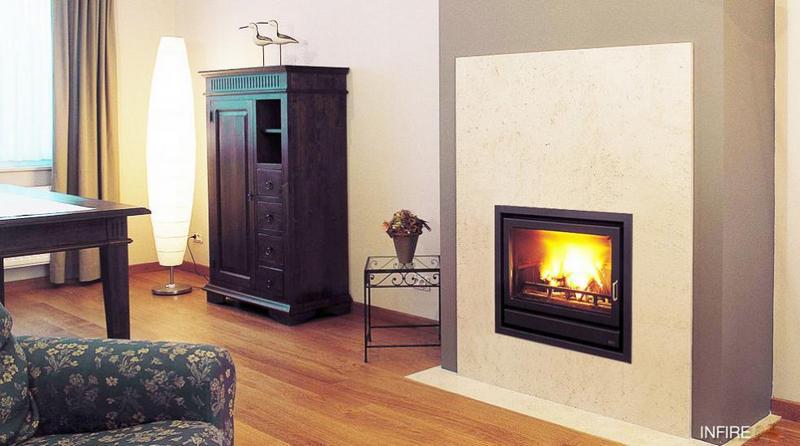 Casete Bodart-Gonay In Fire 603 instalada en falsa columna