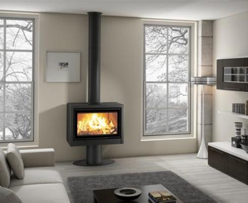 Casete Tnc Bio 80 RP instalada en un calido salón
