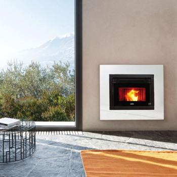 Casete Pellet Ecoteck R1000 instalada y en funcionamiento