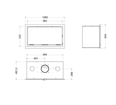 Medidas y esquema del Casete Hergom Sere 100
