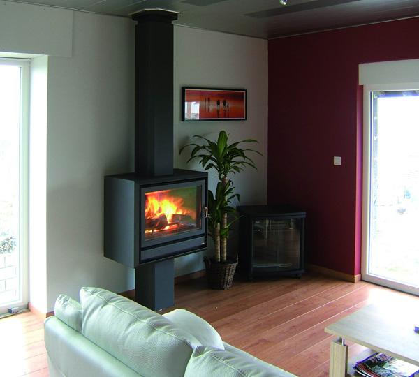 Casete Bodart-Gonay Fuego 743 instalada en salón