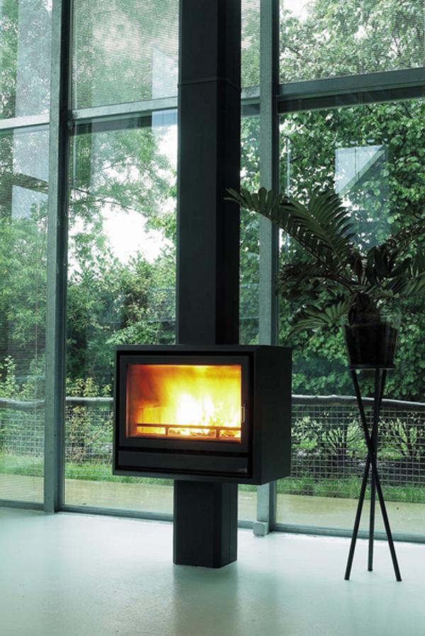 Instalación de la Casete Bodart-Gonay Fuego 743 a modo de estufa
