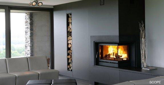 Casete Bodart-Gonay INFIRE 745 Scope con leñero