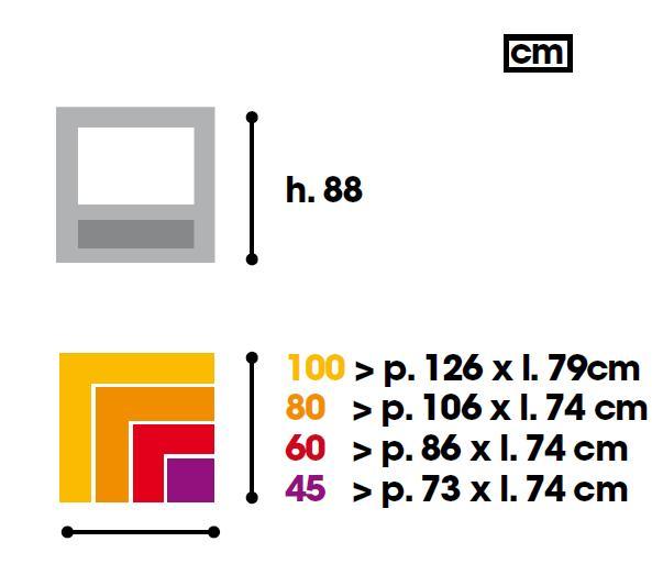 Medidas del Horno Mcz Premium 60 Interior en sus distintas opciones