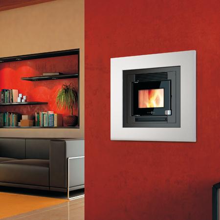 Casete Pellet Ecoteck 500 instala en salón