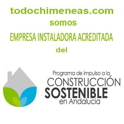 todochimeneas.com empresa instaladora acreditada del programa de incentivos para el DESARROLLO ENERGÉTICO SOSTENIBLE