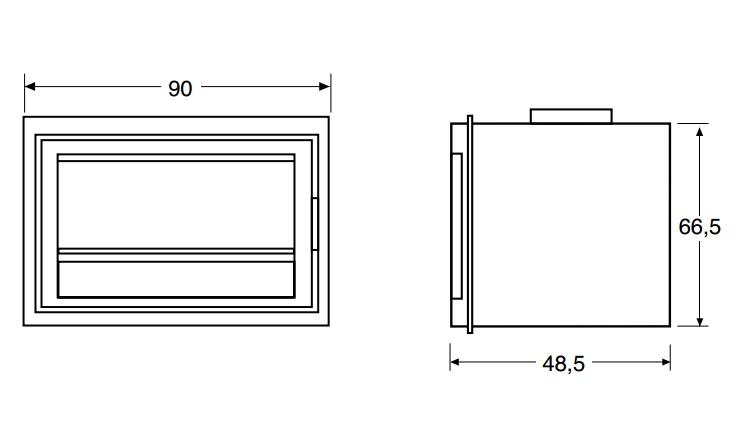 Medidas y esquema de la casete salgueda aero 800