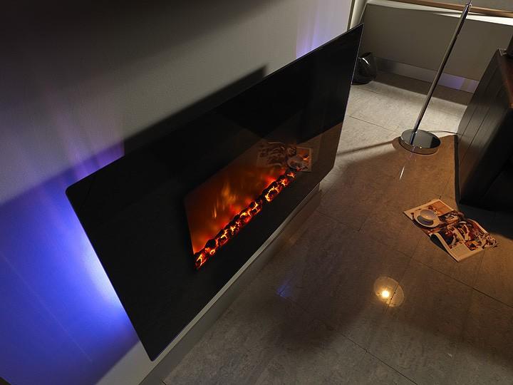 Efecto Fuego BeModern Arizona 36'' con retro iluminación