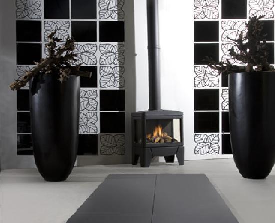 Estufa Gas Faber Jelling instalada en salon
