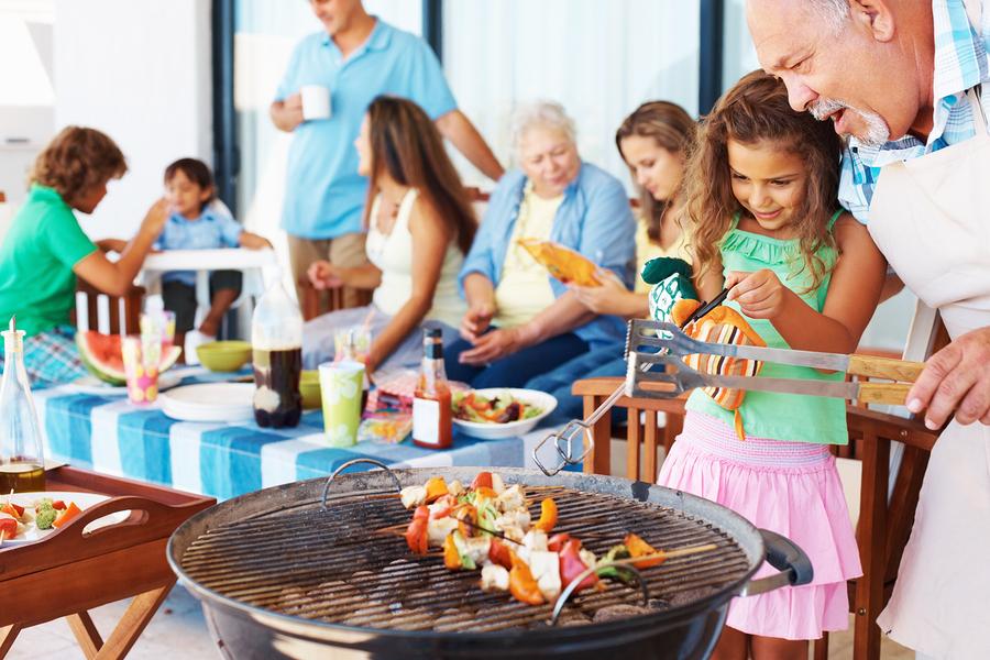 Cocinando Fiesta de barbacoa planificar para triunfar