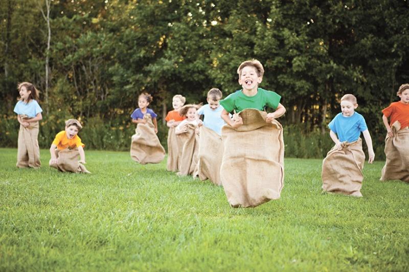 Fiesta de barbacoa planificar para triunfar juegos para niños
