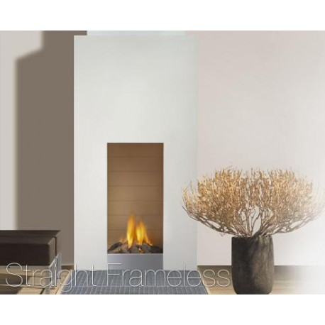 Chimenea Gas Faber Straight Frameless