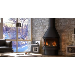 Chimenea Rocal Aitana Frontal