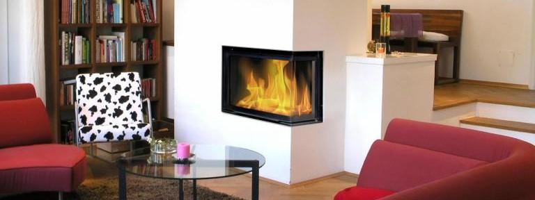 Decoración de interiores con chimeneas